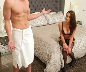 White slobber-filled Ashly Anderson and her ex get..