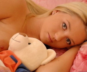 Heavenly gorgeous blond alison angel bare - part 762