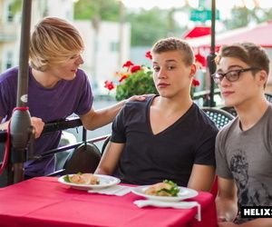 Big dick snugly corbin colby and blake mitchell are at an..
