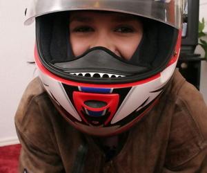 Nude lass in a crash helmet - part 1165