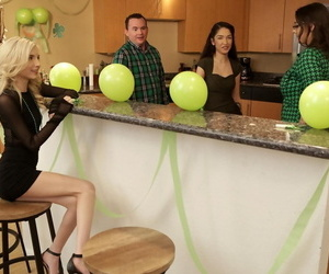 Jericha jem and piper perri feast st. patricks day with a..