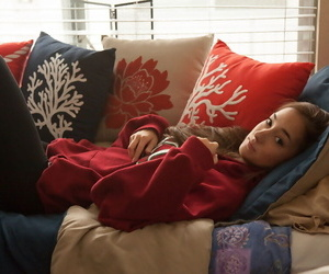 Cool woman carlee delima unclothing in her couch - part 53