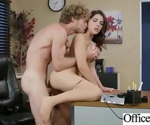 (Valentina Nappi) Buxomy Slut Office Girl Banged Gonzo On..