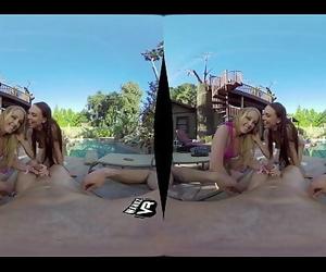 WankzVRBack in the Day ft. Aidra Fox and Chloe Scott