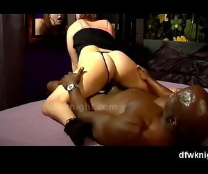 Wifey Amber Blank Takes DFWKnight Deep in Her Vagina