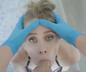 Teenager Anya Olsen Gets her Slutty Facehole Fucked