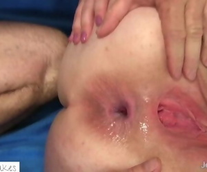 Fat Hoe Gets Painful Ass fucking and NO Mercy!