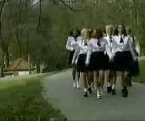 Total DVD Tear BY JP Screwing SCHOOL GIRLS Firm - 6 min