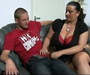 Big Tits Chick Is Searing