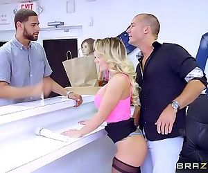 Brazzers - - Huge Tits at Work - 7 min HD