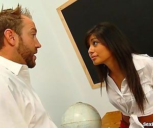 Teen Slut Deepthroats Up To Her TeacherHD