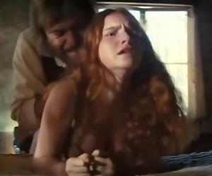 Young Redhead Prostitute Loses Virginity in Western Video..