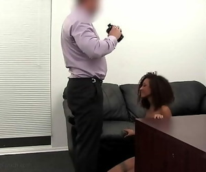 21yo Captured Chick Olivia Pussy Pounded During Audition..