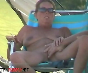 Amazing nudity of some stunners on the beach 5 min 1080p
