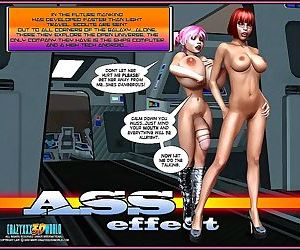 Crazyxxx3Dworld- Ass Effect vol. 3