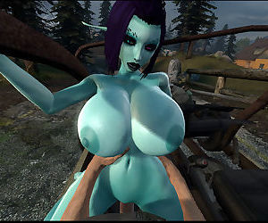 Soria - Big Titty 3D Elf Girl..