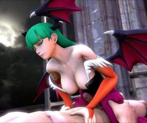 Marvel vs Capcom 3 Morrigan..