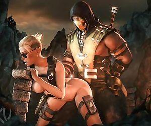 Mortal Kombat XXX Cassie Cage SFM..