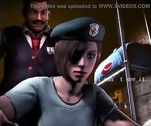 3D Hentai-Resident Evil JILL &..
