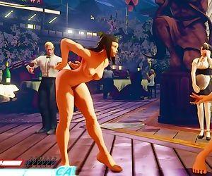 Naked Ninka Ibuki Street Fighter..