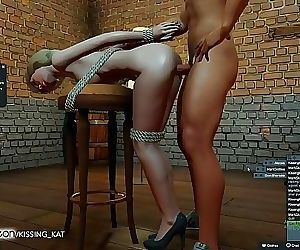 Anal Hot Sex at a 3DXChat Club 6..
