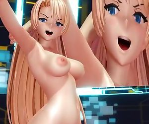 3D MMD Angela Balzac in Cyber..