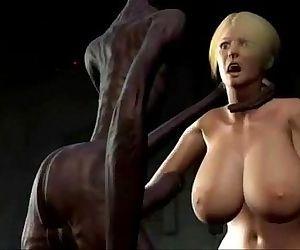 3d Anime - sexo com alienigena -..