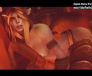 World of Whorecraft Porn Game -..