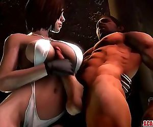 Hot Jill Valentine gets pussy..