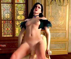 Super Sexy Body Cartoon Anal 3d..