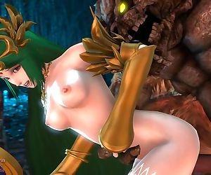 3D Hentai Monster Fuck