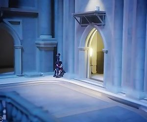 Overwatch Sombra blowjob and..