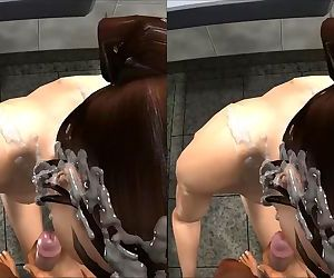 LARA CROFT CUMSHOT STEREOSCOPIC 3D