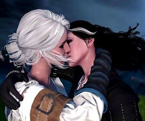 The Kiss - A witcher fan fiction