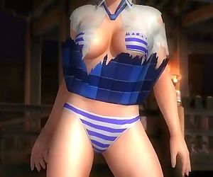 Dead or alive 5 sexy blonde MILF..
