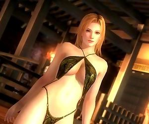 Dead or alive 5 Tina sexy blonde..