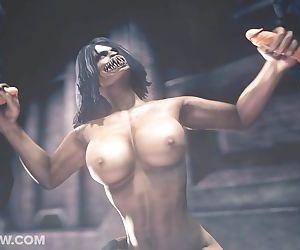 Studio Fow Mortal Kombat Mileena..