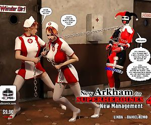 New Arkham for Superheroines 4 -..