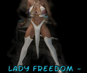 Captured Heroines- Lady Freedom..