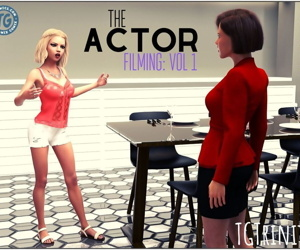 TGTrinity- The Actor- Filming..