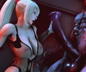 Samus Taming Alien 2
