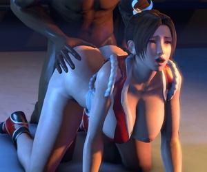 SFM Mai Shiranui Gangbang - part 3
