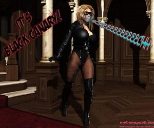 mrbunnyartCain vs Catwoman..