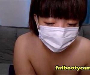 Chubby Japanese Butt on Cam - fatbootycams.com - 9 min