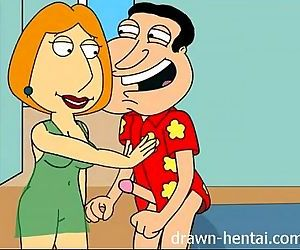 Family Guy Hentai - 50 shades of Lois - 7 min
