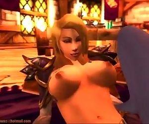 World of Warcraft: Jaina lesbian fuck - 2 min