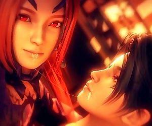 Kunoichi 2 Fall of the Shrinemaiden Trailer - 2 min