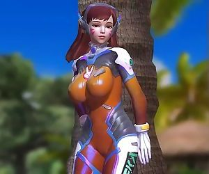 Dead or Alive 5 1.09BH - D.VA Relax by a Tree on the Beach