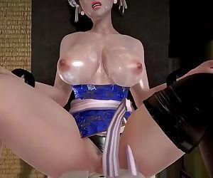 Chun-Li Street Fighter POV Hentai 3D