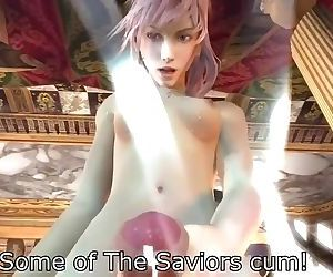 Final fantasy lightning futa pov